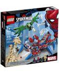 Конструктор Lego Marvel Super Heroes - Машината на Spider-Man (76114) - 5t