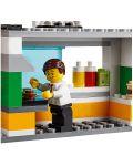 Конструктор Lego City - Спасителна акция от пожар в бургер бар (60214) - 11t