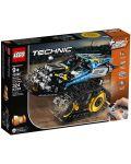 Конструктор Lego Technic - Каскадьорска кола, с дистанционно управление (42095) - 1t