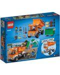 Конструктор Lego City - Боклукчийски камион (60220) - 9t