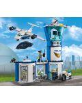 Конструктор Lego City - Полиция в небето, въздушна база (60210) - 4t