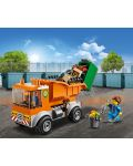 Конструктор Lego City - Боклукчийски камион (60220) - 6t