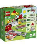 Конструктор Lego Duplo - Релси за влак (10882) - 1t
