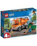 Конструктор Lego City - Боклукчийски камион (60220) - 10t