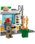 Конструктор Lego City - Спасителна акция от пожар в бургер бар (60214) - 10t