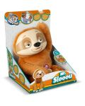 Интерактивна плюшена играчка IMC Toys - Ленивец Mr Slooou - 5t