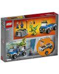 Конструктор Lego Juniors - Спасителен камион за Раптор - 3t