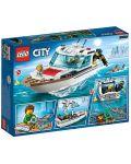 Конструктор Lego City - Яхта за гмуркане (60221) - 7t