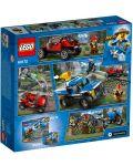 Конструктор Lego City - Преследване по черен път (60172) - 9t