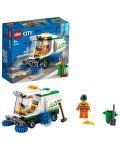 Конструктор Lego City Great Vehicles - Машина за метене на улици (60249) - 3t