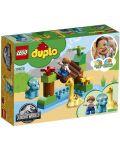 Конструктор Lego Duplo - Зоологическа градина за дружелюбни гиганти (10879) - 6t