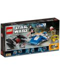 Конструктор Lego Star Wars - A-wing™ vs. TIE Silencer™ Microfighters (75196) - 4t