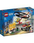 Конструктор Lego City Fire - Реакция с пожарен хеликоптер (60248) - 1t