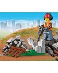 Конструктор Lego City - Строителен товарач (60219) - 3t