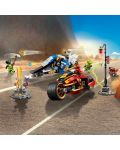Конструктор Lego Ninjago - Мотоциклетът на Kai и снегомобилът на Zane (70667) - 7t
