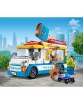 Конструктор Lego City Great Vehicles - Камион за сладолед (60253) - 6t