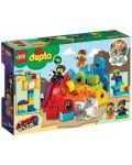 Конструктор Lego Duplo - Посетителите на Емет и Люси от планета DUPLO® (10895) - 6t