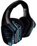 Гейминг слушалки Logitech G933 Artemis Spectrum - 7.1 Surround, безжични, черни - 1t