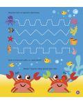 Научи ръчичката да пише: Числа, лабиринти и намиране на разлики + флумастер - 10t