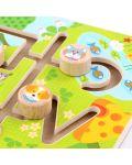 Дървен лабиринт Lucy&Leo - Животни - 4t