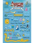 Макси плакат Pyramid - Adventure Time (Infographic) - 1t