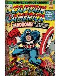 Макси плакат Pyramid - Marvel Retro (Captain America - Madbomb) - 1t