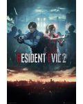 Макси плакат GB Eye Resident Evil 2 - City Key Art - 1t