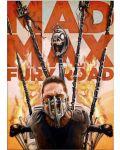 Метален постер Displate - Mad Max - Fury Road - 1t