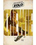 Макси плакат Pyramid - Solo: A Star Wars Story (Chewie Teaser) - 1t