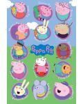 Макси плакат Pyramid - Peppa Pig (Multi Characters) - 1t
