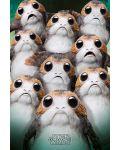 Макси плакат Pyramid - Star Wars The Last Jedi (Many Porgs) - 1t
