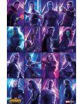 Макси плакат Pyramid - Avengers: Infinity War (Heroes) - 1t