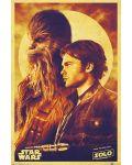 Макси плакат Pyramid - Solo: A Star Wars Story (Han and Chewie) - 1t