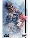 Макси плакат Pyramid - Solo: A Star Wars Story (Chewie Blaster) - 1t