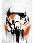 Метален постер Displate - Star Wars: Banksy - 1t