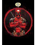 Метален постер Displate - Deadpool: Evening Plans - 1t