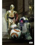 Метален постер Displate - Star Wars: Droids - 1t