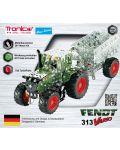 Метален конструктор Tronico - Мини серия, трактор с ремарке Fendt 313 Vario - 3t