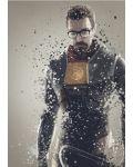 Метален постер Displate - Gordon Freeman - 1t