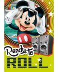 Ученическа тетрадка А5, 24 листа Mickey - Ready To Roll - 1t