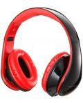 Слушалки с микрофон Microlab K360 - черни/червени - 2t