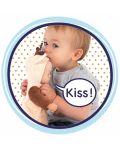 Кукла раздаваща целувки Smoby MiniKiss Animal - Еленче, 30 cm - 3t