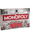 Настолна игра Monopoly - The Walking Dead Edition - 1t