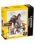 Мини пъзел New York Puzzle от 100 части - Динозаври, Лавразия - 2t
