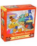 Мини пъзел New York Puzzle от 20 части - Всички на борда - 1t