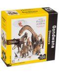 Мини пъзел New York Puzzle от 100 части - Динозаври - 2t