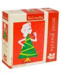 Мини пъзел New York Puzzle от 100 части - Госпожица Коледа - 1t