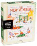 Пъзел New York Puzzle от 500 части - Снежен ден - 2t