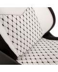 Гейминг стол noblechairs EPIC - бял/черен - 8t