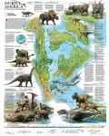 Пъзел New York Puzzle от 500 части - Динозаври, Северна Америка - 1t